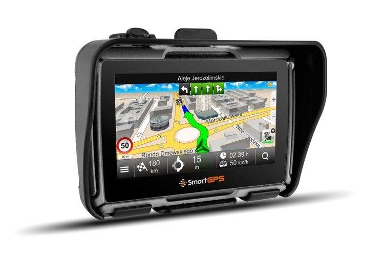 Nawigacja motocyklowa SmartGPS SG43 MapaMap PL + OSM EU