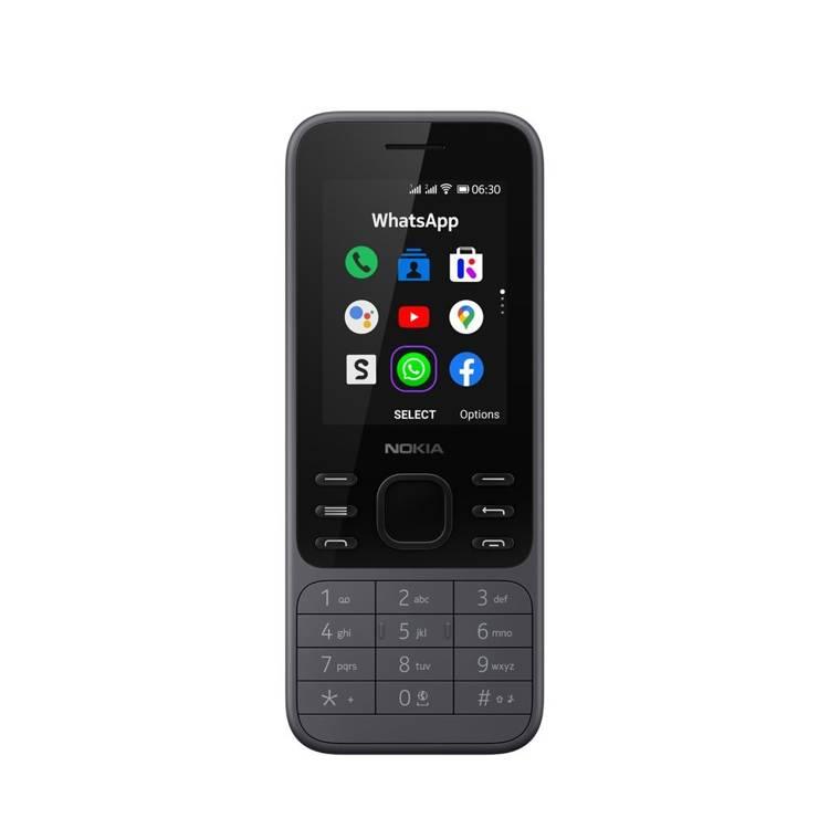 Nokia 6300 4G Dual Sim Grafitowa