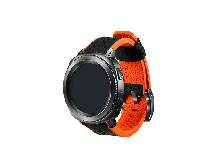 Pasek Samsung Hybrid Sport Strap Pomarańczowy do Gear Sport (GP-R600BREEAAC)