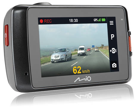 Rejestrator Mio MiVue 698 Dual Extreme HD | Kamera tylna FullHD