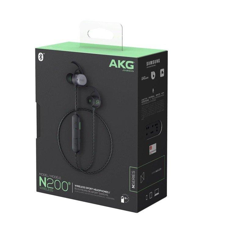 Samsung AKG N200A Słuchawki BT Czarne (GP-N200HAHHFAA)