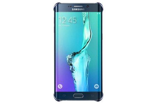 Samsung Etui Clear Cover Czarne do Galaxy S6 Edge+ EF-QG928CBEGWW