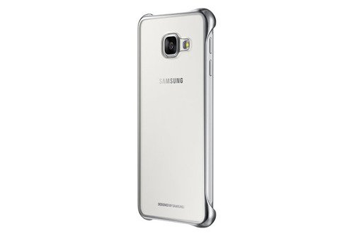 Samsung Etui Clear Cover Srebrne do Galaxy A3 (2016) EF-QA310CSEGWW