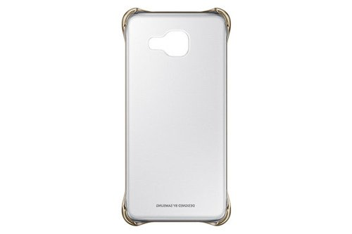 Samsung Etui Clear Cover Złote do Galaxy A3 (2016) EF-QA310CFEGWW