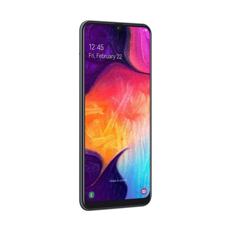 Samsung Galaxy A50 Czarny Dual SIM 4/128GB (SM-A505FZKSXEO)