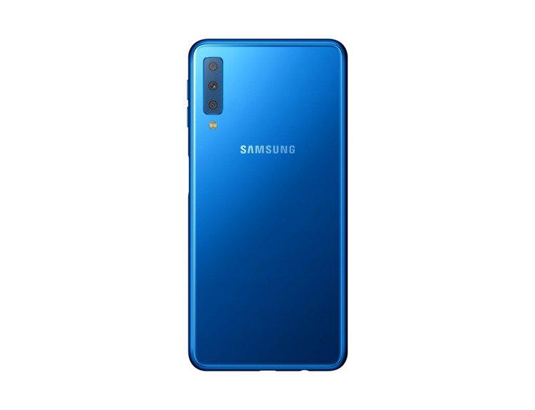 Samsung Galaxy A7 4/64GB Niebieski Dual SIM SM-A750FZBUXEO