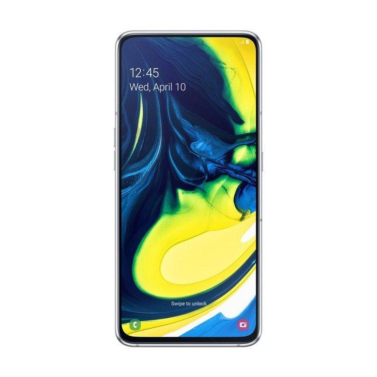 Samsung Galaxy A80 Srebrny Dual SIM 8/128GB (SM-A805FZSDXEO)