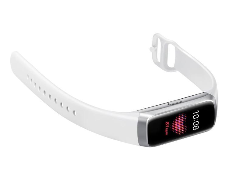 Samsung Galaxy Fit Srebrny Opaska fitnes (SM-R370NZSAXEO)