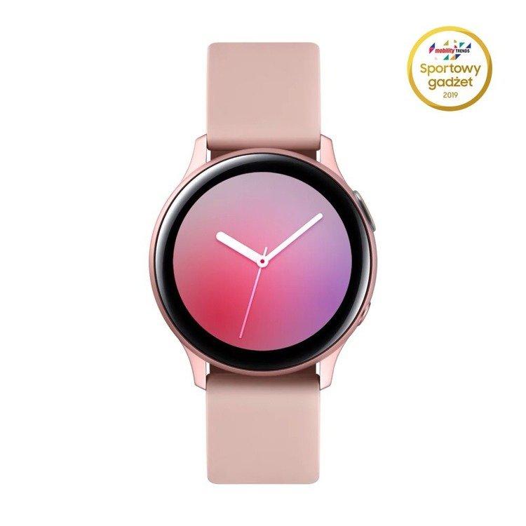 Samsung Galaxy Watch Active 2 Aluminium Różowe Złoto 40mm   SM-R830NZDAXEO