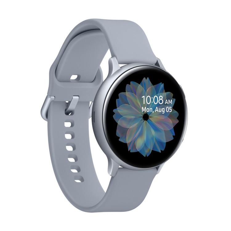 Samsung Galaxy Watch Active 2 Aluminium Srebrny 44mm | SM-R820NZSAXEO