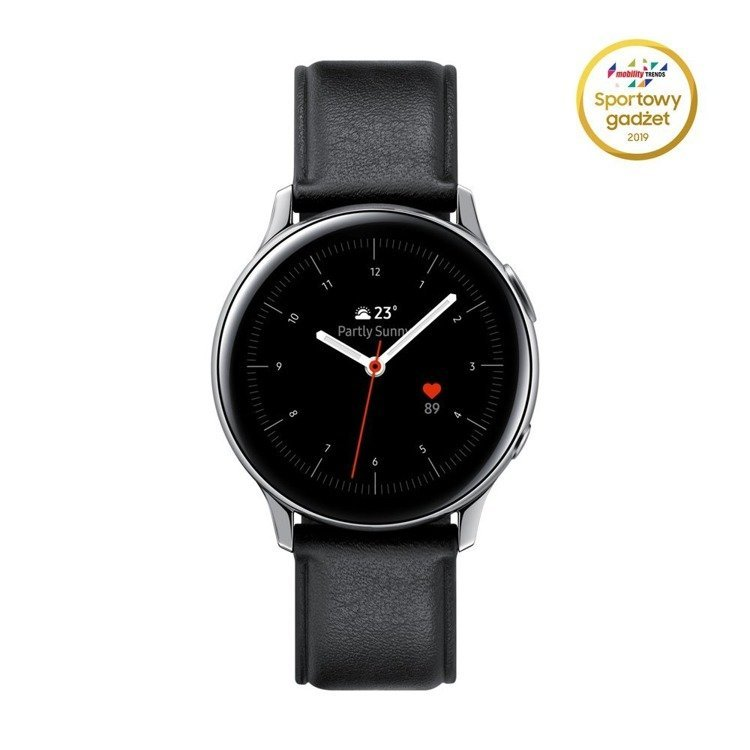 Samsung Galaxy Watch Active 2 Stal Srebrny 40mm | SM-R830NSSAXEO /OUTLET