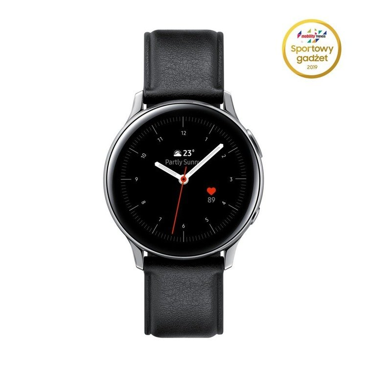 Samsung Galaxy Watch Active 2 Stal Srebrny LTE 40mm   SM-R835FSSAXEO