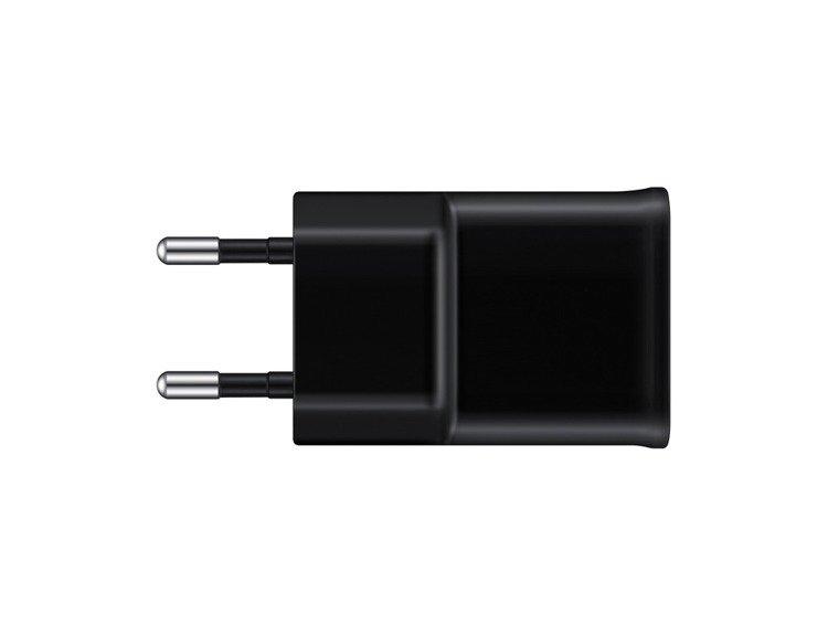 Samsung Ładowarka podróżna microUSB Czarna EP-TA12EBEUGWW