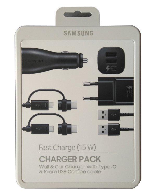 Samsung Power Pack (Ład. sieciowa + samochodowa) EP-U3100WBEGWW