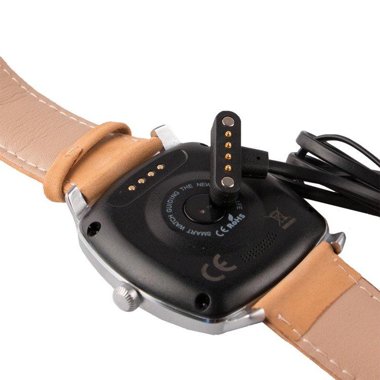 SmartGPS SmartWatch Srebrny SMW01 /OUTLET