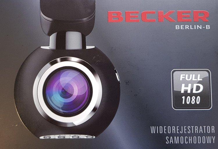 Wideorejestrator Kamera FullHD Becker BERLIN Czarny