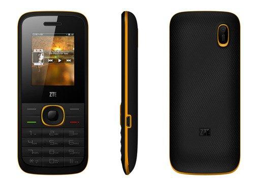 ZTE R528 Dual SIM Czarno-Zółty /OUTLET